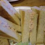 名岐屋 - パンは生タイプとトーストタイプを選択可能