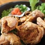 浜料理がんがん - 鶏の唐揚げ