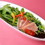 エピスカフェ - ルッコラと生ハムのサラダ