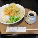 喜三郎 - 2015/7/18 桜海老かき揚げぶっかけうどん