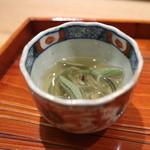 日本料理 太月 - 2015/7 ジュンサイと土佐酢