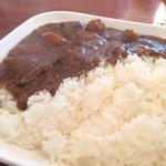 Bar Restaurant Andra - 日替わりカレーライスランチ(1,000円)★★★★☆サラダ、スープ、ドリンク付きランチメニュー