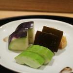 日本料理 太月 - 2015/7 香の物