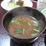 日本料理 太月 - 2015/7 味噌汁
