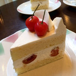 セ・ラ・セゾン! - チェリーのショートケーキ