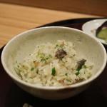日本料理 太月 - 2015/7 すっぽん御飯