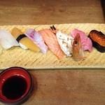 づぼら寿司 - 特上寿司 ¥2300