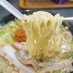 有頂天の元祖 - この麺は、柔らかいけど味自体は悪くない、もうチョット固めなら言うことなし!!