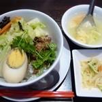 40086897 - 魯肉飯と愛玉子セット
