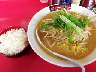 らーめん処麺道蘭 - 濃厚極味噌ラーメン
