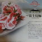 みのる - ーしゃぶしゃぶー富士幻豚の説明^^