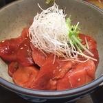 くろば亭 - まぐろ中トロ丼 2160円