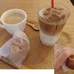 フロレスタ - コーヒー,カフェラテ,カレードーナツ