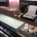 櫻山 - 店内…ショーケース