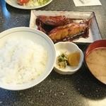 こじま食堂 - 2015年5月 きんめ鯛煮魚(定食) 1200円