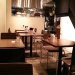 うさぎ食堂 - スタイリッシュで清潔感のある店内