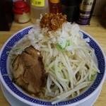 勝神角ふじ - ふじそば煮干し 750円