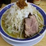 勝神角ふじ - ふじそばカレー 770円