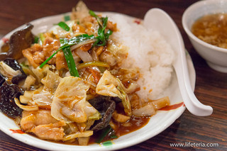 麺飯食堂 ひら匠 - ホイコーロー飯【2015年7月】