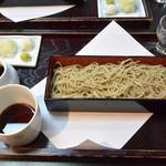 そば処 鞍馬 - 箱盛そば(940円)