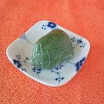 荻野 - 草餅ー約67gー135円 2015年7月