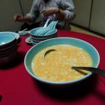 桃花 - 2500円コースのスープ(5人分)