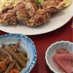 レストラン ふじ - 唐揚げ定食