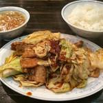 福来軒 - 回鍋肉定食