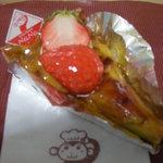 ケーキハウス・ナナ - 焼き苺のタルト