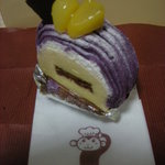 ケーキハウス・ナナ - 紫芋のモンブラン