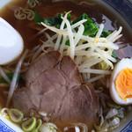 豊華 - ゆりあげ港朝市 醤油ラーメン アップ