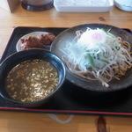 鳴門 - つけ麺の野菜大盛り(980円)