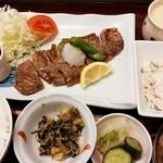 ほうりん - ステーキ御膳 1,200円