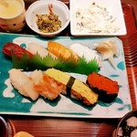 ほうりん - 寿司御膳 1,200円