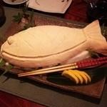 しきの - 鯛の塩釜焼き(*^^*)✨感動