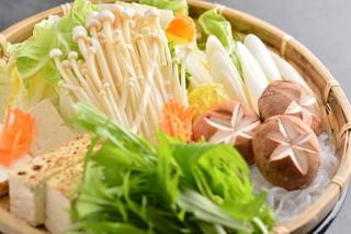 すき焼き・しゃぶしゃぶ処 安芸亭 - お野菜盛り