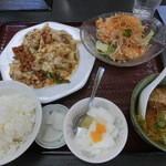 葵飯店 - 料理写真:日替わりランチ(756円)