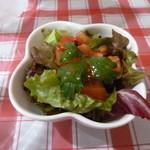 いなぎ SATOYAMA キッチン - カレーのセットのサラダ