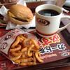 A&W - 料理写真:チーズバーガー&カリーフライ