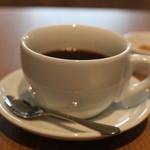 ルームラックス カフェ - ドリンクはホットコーヒーをお願いしました