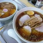 大勝軒 - '15/07/20 チャーシュー麺(1,026円)&玉1個(756円)
