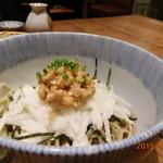 40106100 - 長芋と納豆のぶっかけ蕎麦