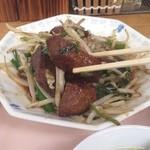 東風 - レバニラ炒め