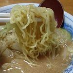 三太夫 - 麺アップ