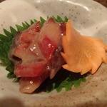活食・隠れ酒蔵 かけはし - 鮭とば味噌漬け650円