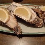 活食・隠れ酒蔵 かけはし - 仙鳳趾産生牡蠣 値段忘れた