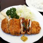 レストラン キノシタ - 味噌カツライス ¥830