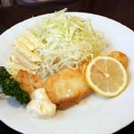 レストラン キノシタ - 魚のバター焼きライス ¥780