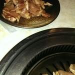 焼肉ハウスさんちく - 豚ロースセット