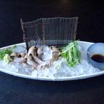 川魚・郷土旬菜 うおとし - うなぎのきもわさ